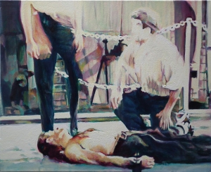 Dead Reckoning 3, oil on canvas, 20