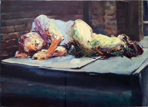 Studio 5, oil on canvas, 14