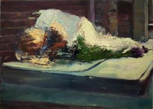 Studio 9, oil on canvas, 14